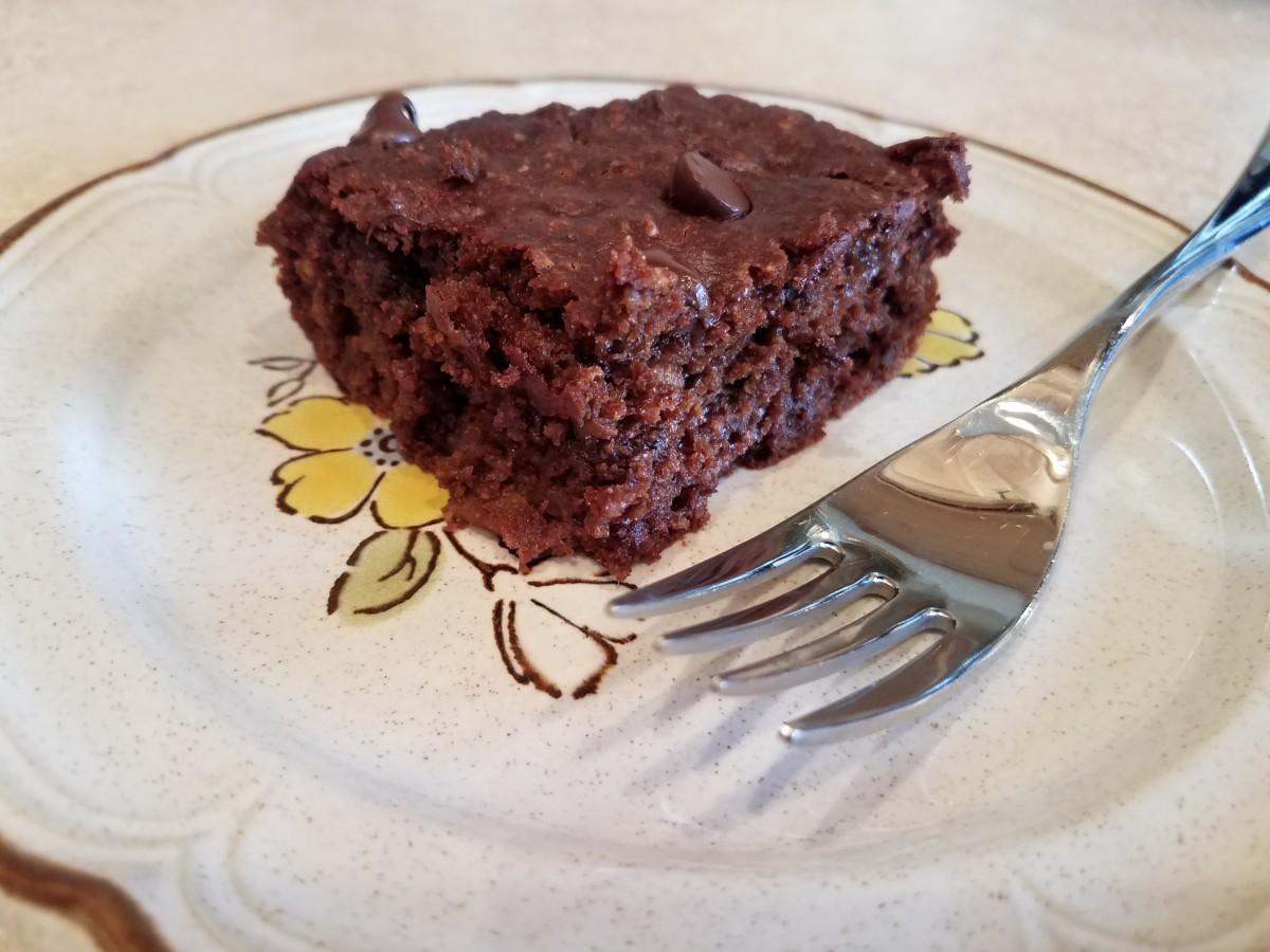 Clean Double-Fudge Brownies Recipe