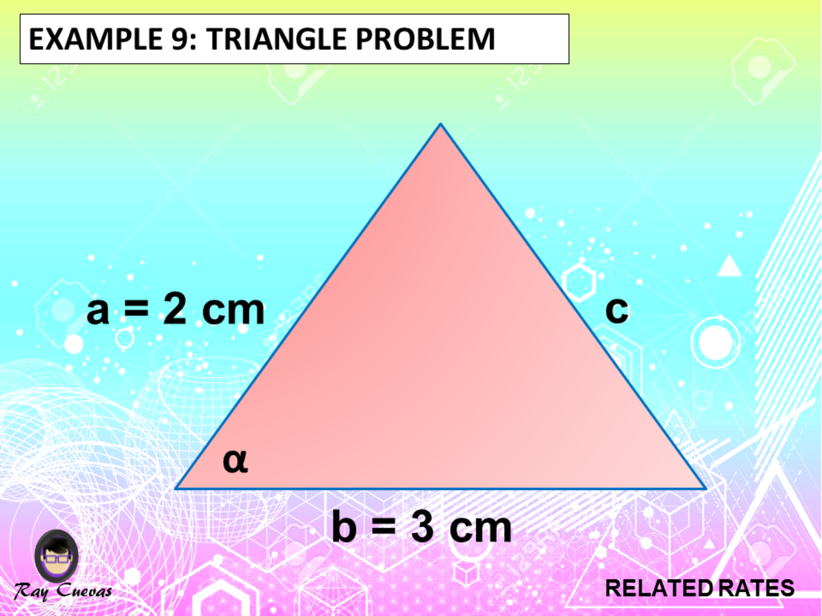 Example 9: Related Rates Triangle