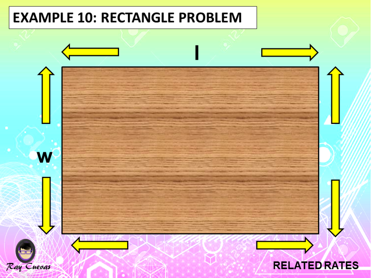 Example 10: Related Rates Rectangle