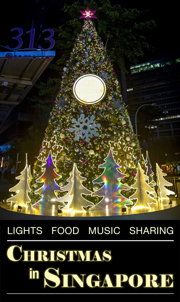 How is Christmas in Singapore celebrated?