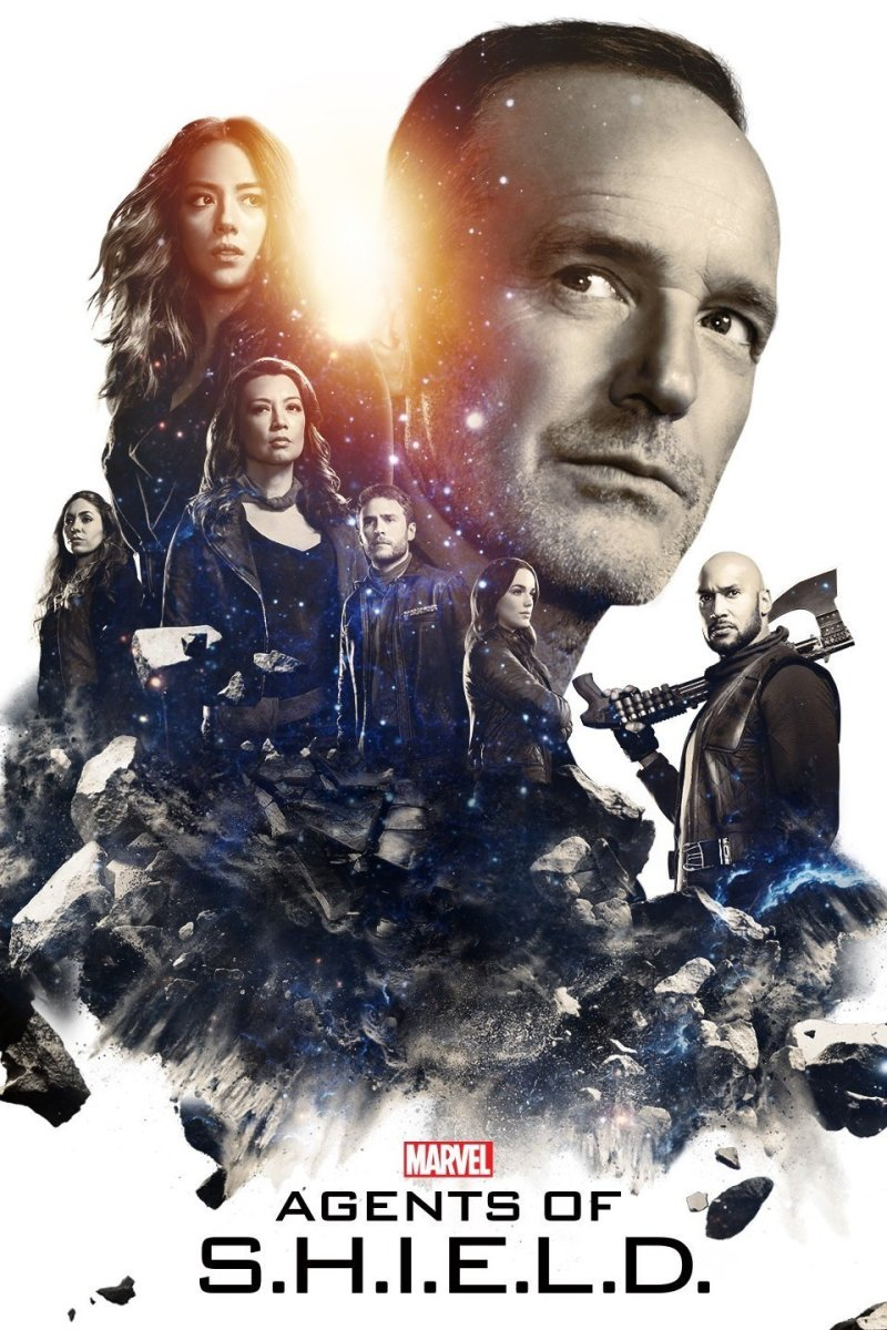 "A poster for ""Marvel's Agents of S.H.I.E.L.D."""