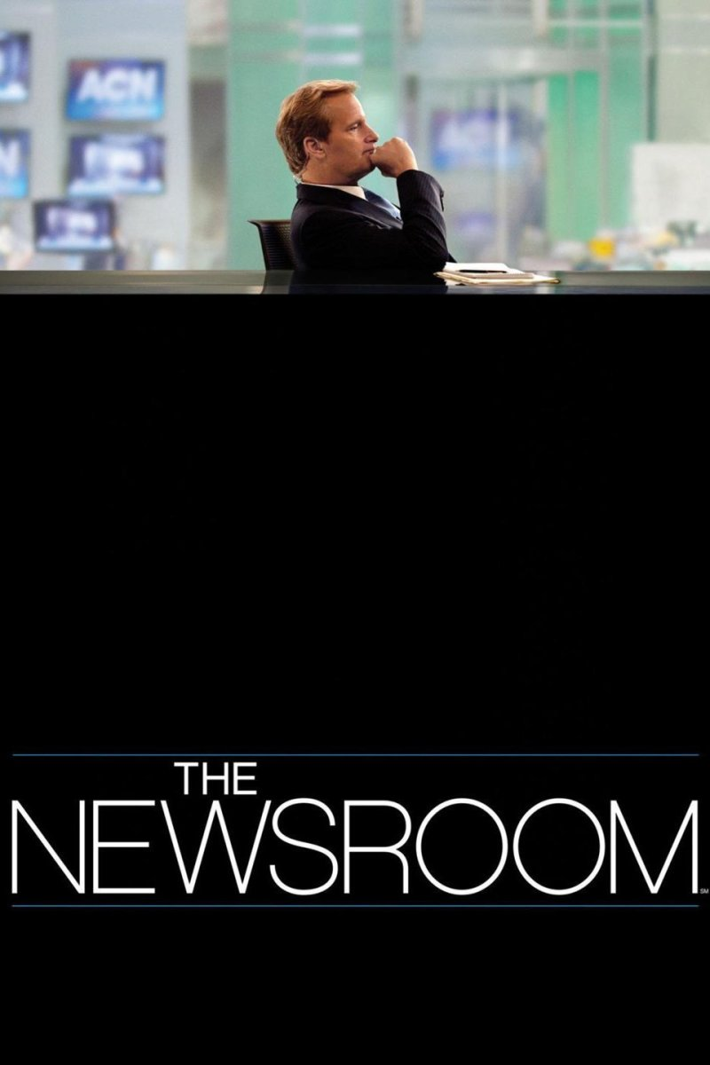 "Poster for ""The Newsroom"""