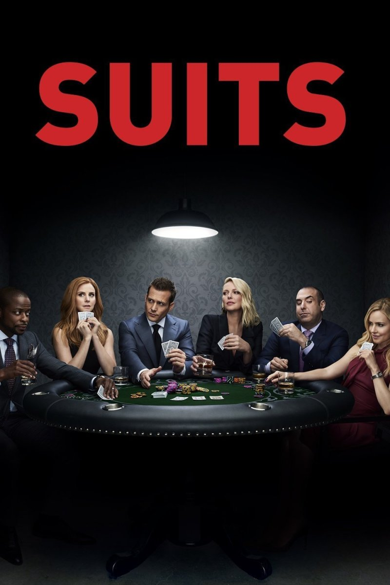 "A poster for ""Suits"""