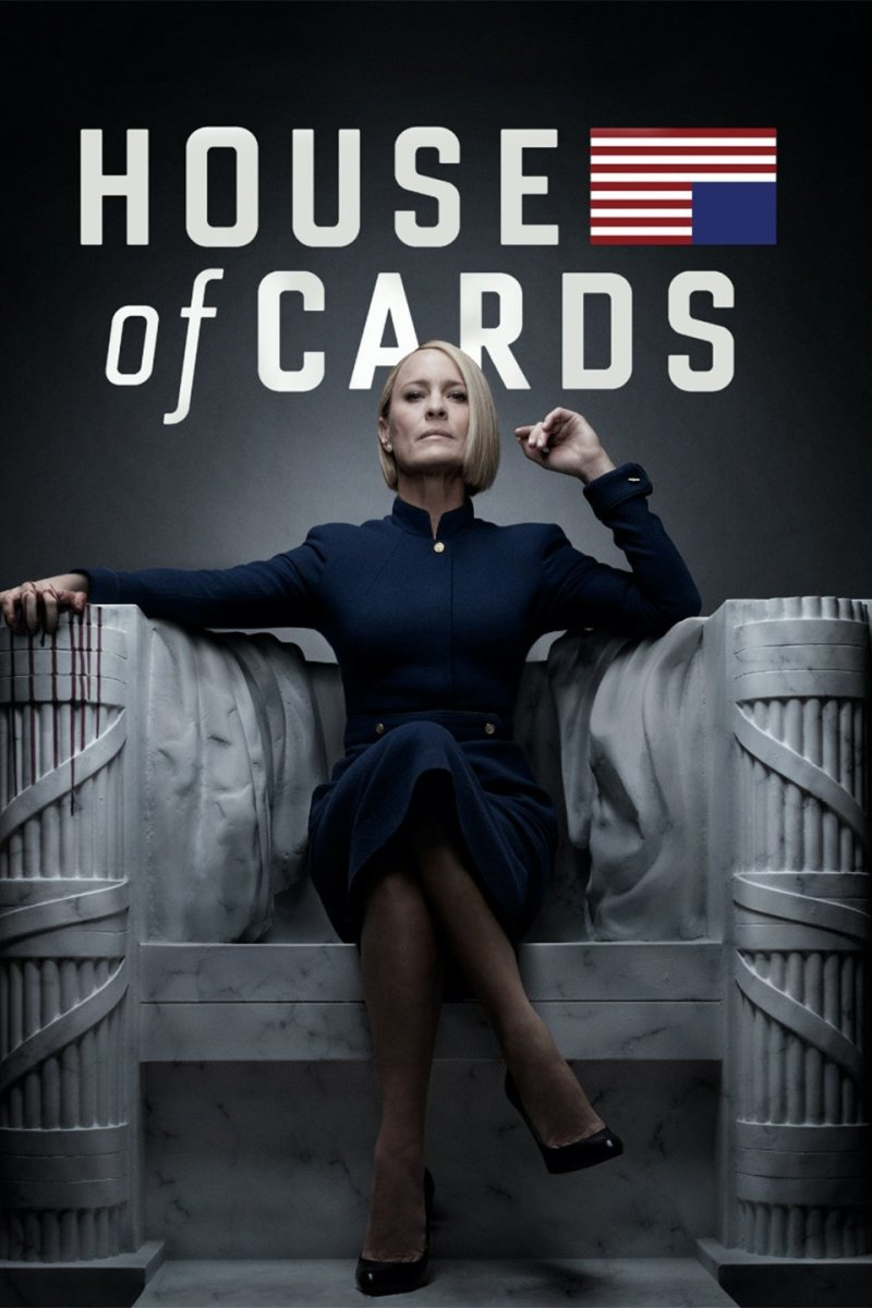 "Netflix poster for ""House of Cards"""
