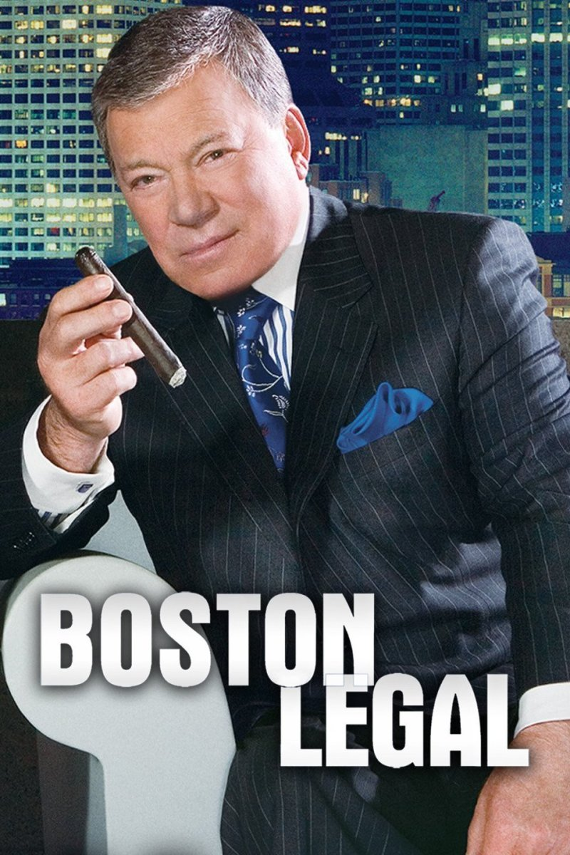 "A poster for ""Boston Legal"""