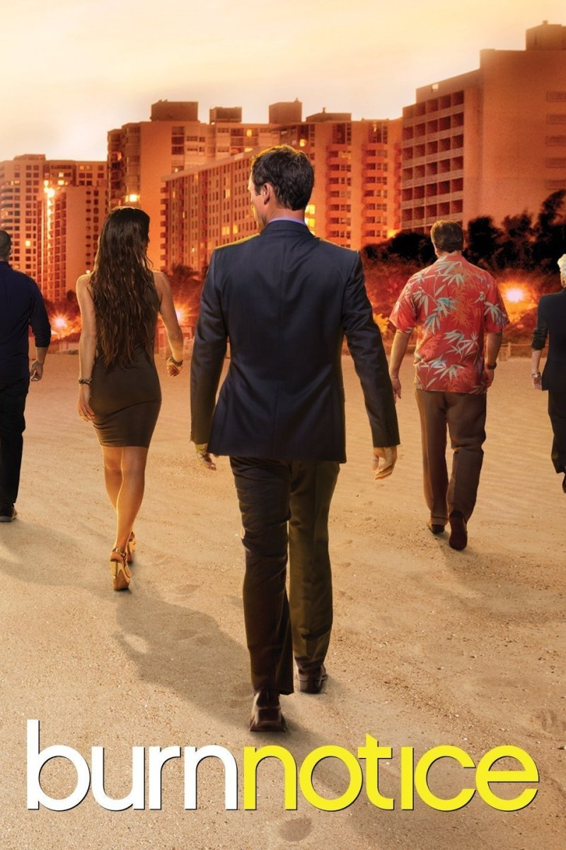 "Poster for ""Burn Notice"""