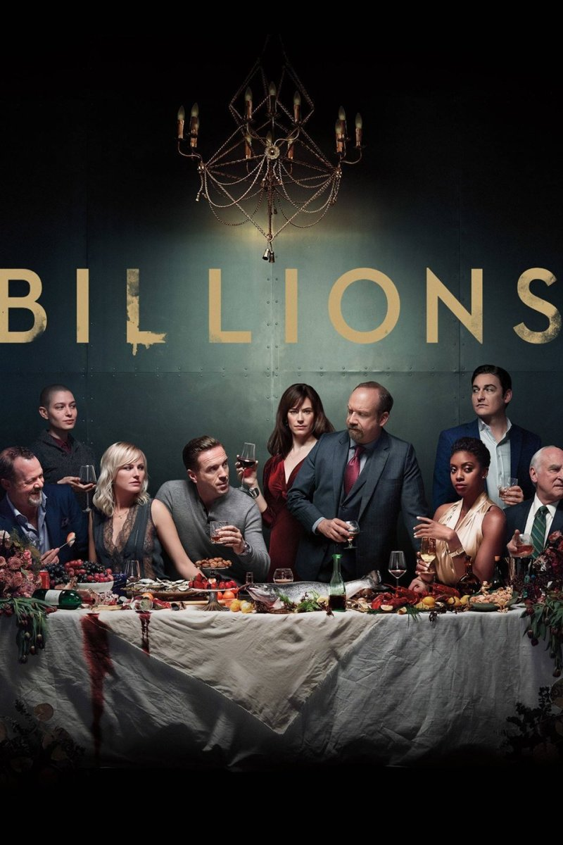 "The poster for ""Billions"""