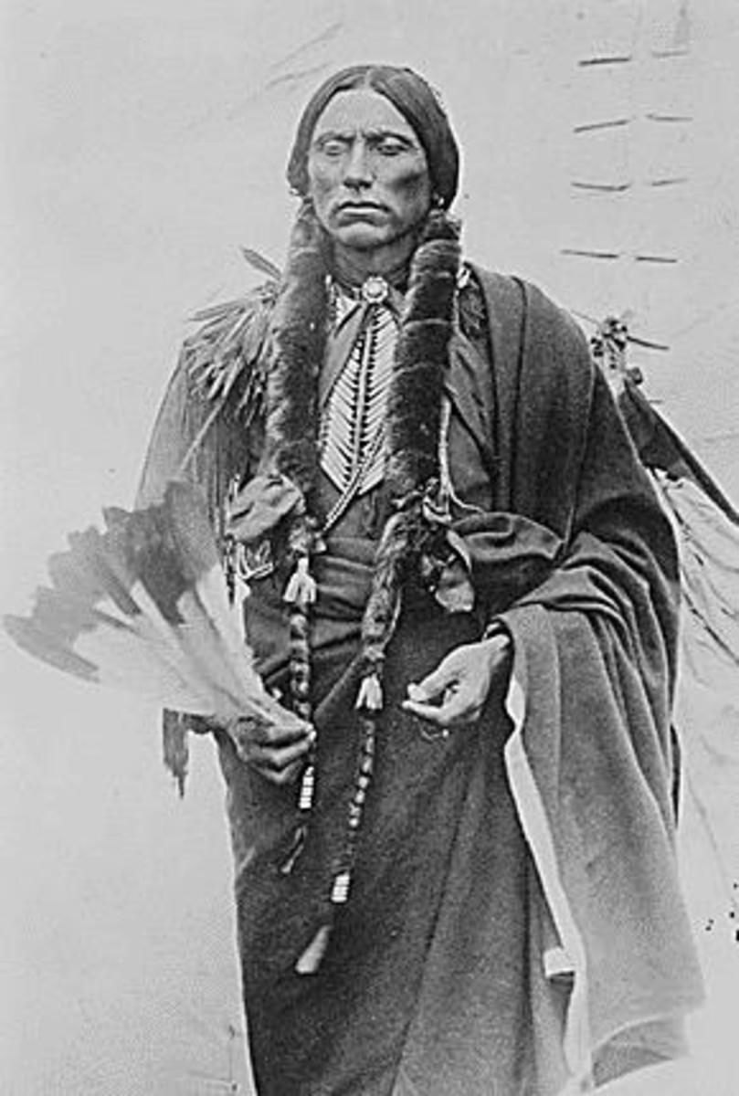 Chief Quanah Parker of the Kwahadi Comanche