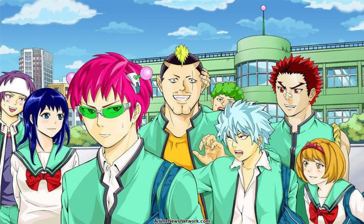 Saiki Kusuo no Ψ-nan (The Disastrous Life of Saiki K)