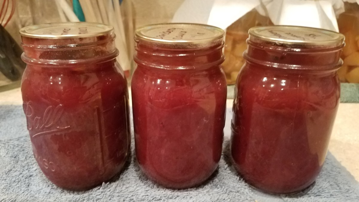 Making and Canning Fresh Homemade Cranberry Sauce