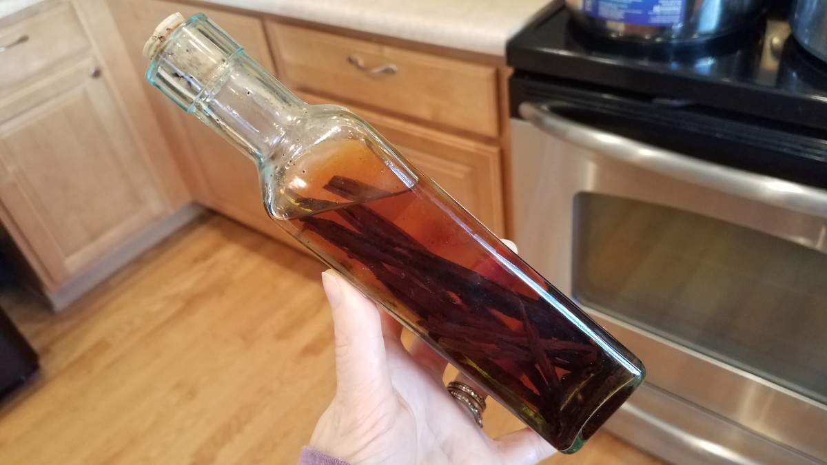 Easy Homemade Vanilla Extract in 2 Simple Steps