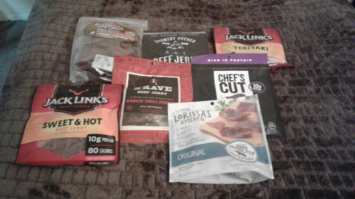 A Review of Beef Jerky Products