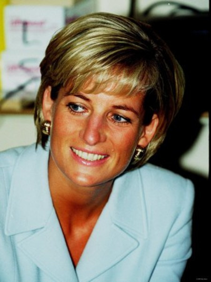 Princess di her life and death in videos hubpages Diana princess of wales affairs
