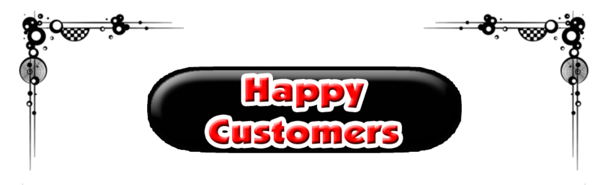 Happy Customers Sign Should Be Everywhere in Businesses