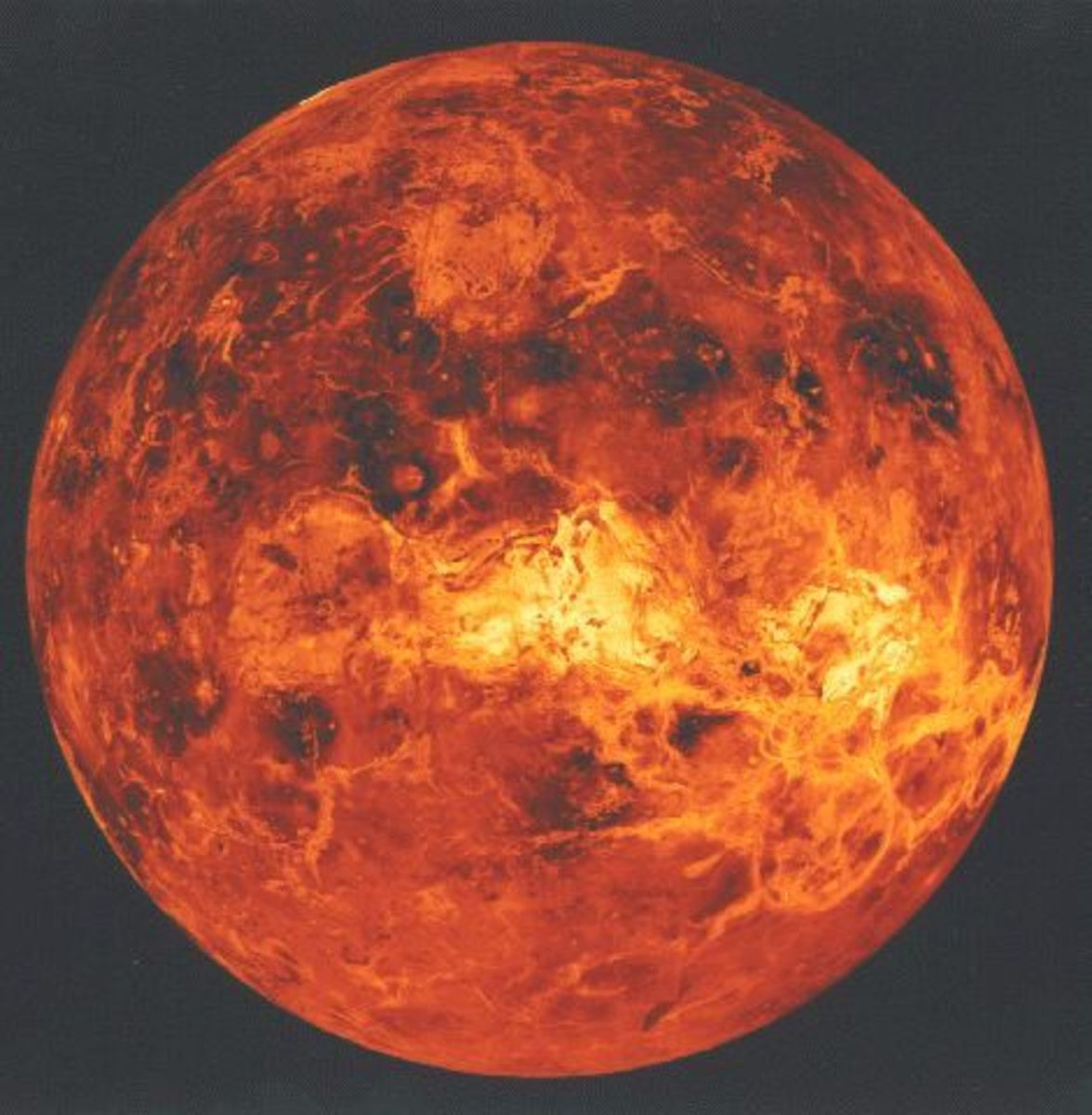 The planet Venus is too hot, with too acidic an atmospheric to support carbon-based life, as far as we know. We may discover differently.