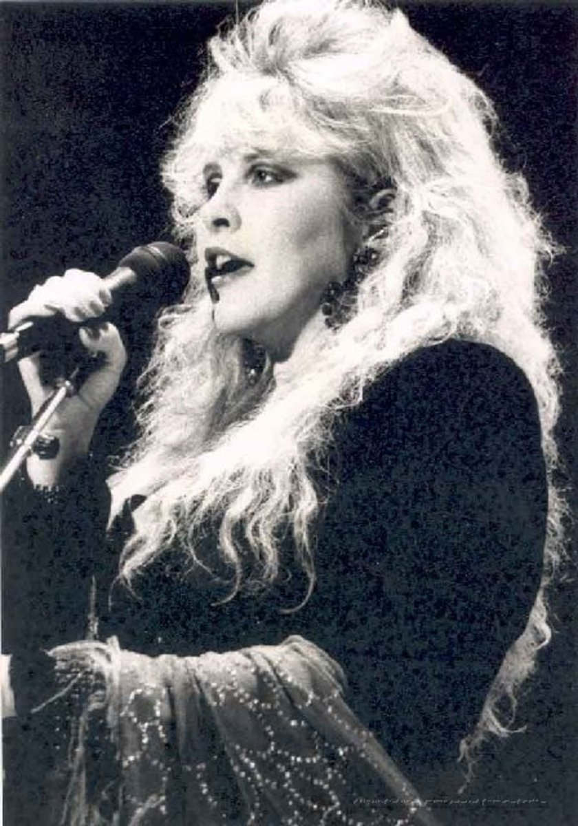 Big, frizzy, and very 80's, but oh can she sing.