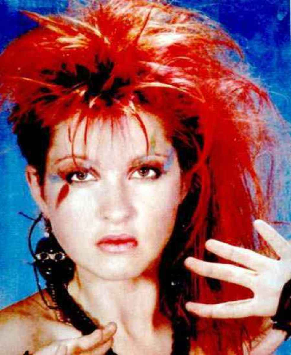 Cyndi Lauper Do of the 80's