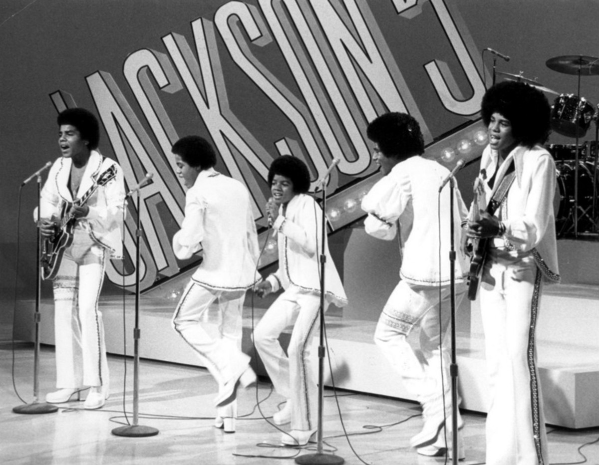 """The awesome Jackson Five in their """"Fro"""" days"""