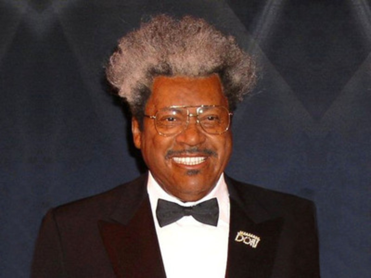 The infamous Don King