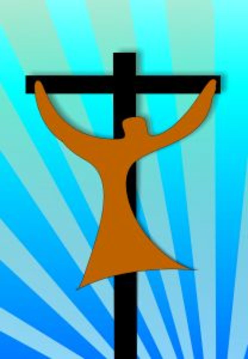 Jesus' Redeeming Work: Image by Rainer Topf (http://www.sxc.hu/profile/Topsoft)
