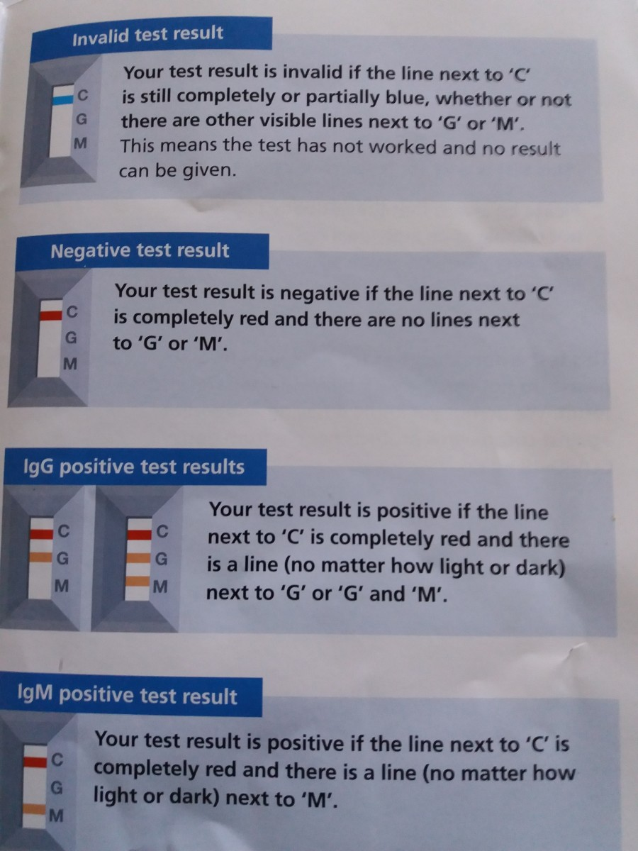 Checking out the positive from the negative corvid 19 immunity antibody test