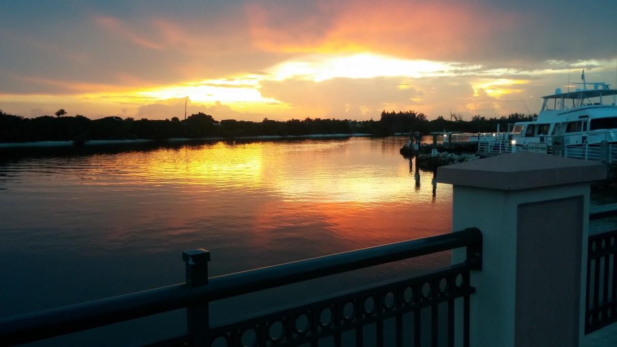 Riverwalk in Jupiter Yacht Club, Florida