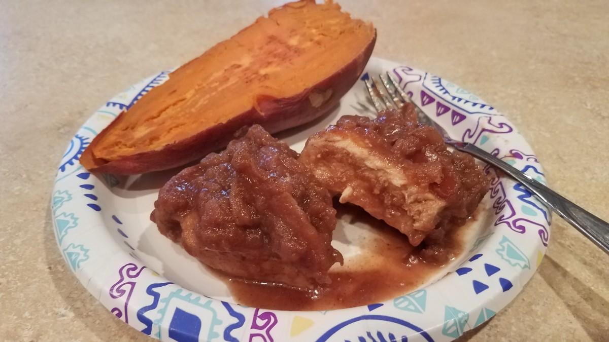 Tender Apple Butter Pork Chops