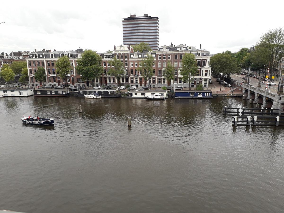 Across the River Amstel.