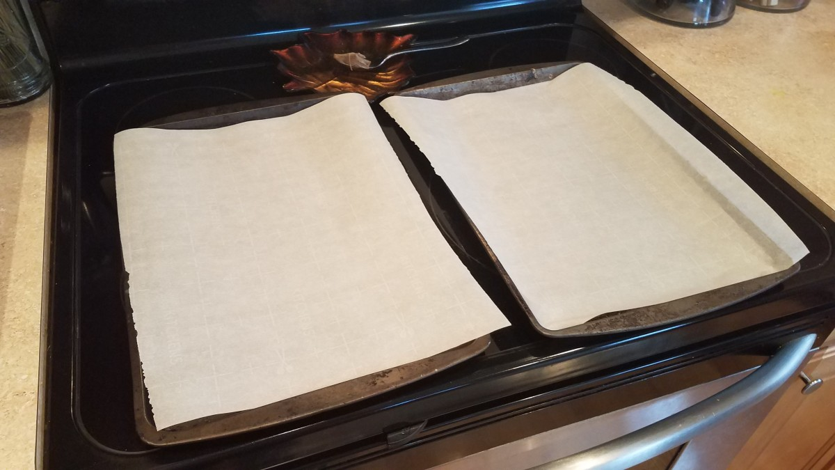 Line your cookie sheets with parchment paper.