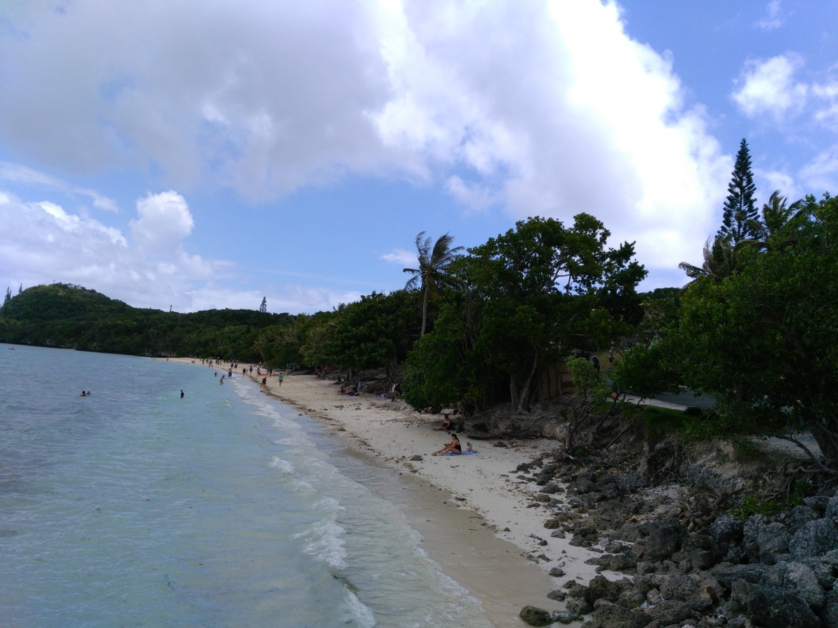 A beach at Lifou (The Loyalty islands) New Caledonia