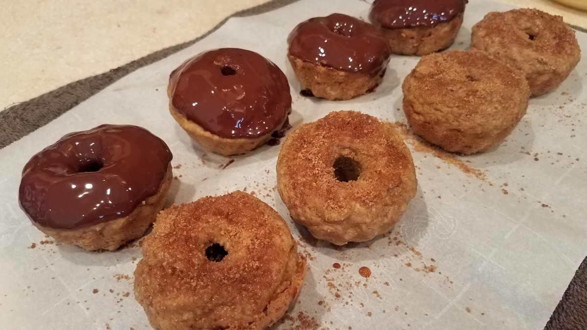 Homemade Clean Eating Pumpkin Donuts
