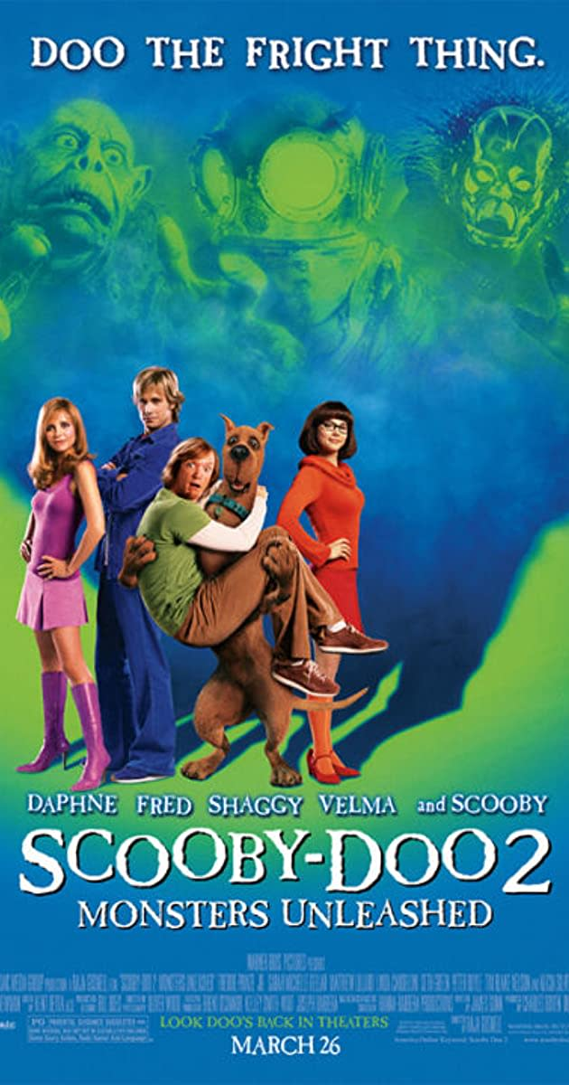 """Scooby-Doo 2: Monsters Unleashed"" Poster"