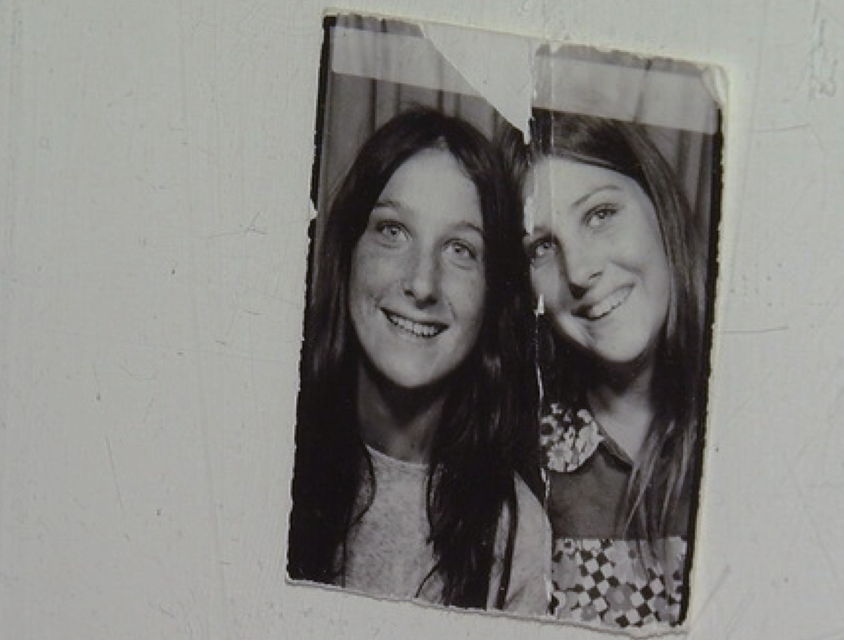 Jackie (left) and Cindy (right) who vanished from their Mesa neighborhood over 46 years ago. Photo courtesy of KGUN TV.
