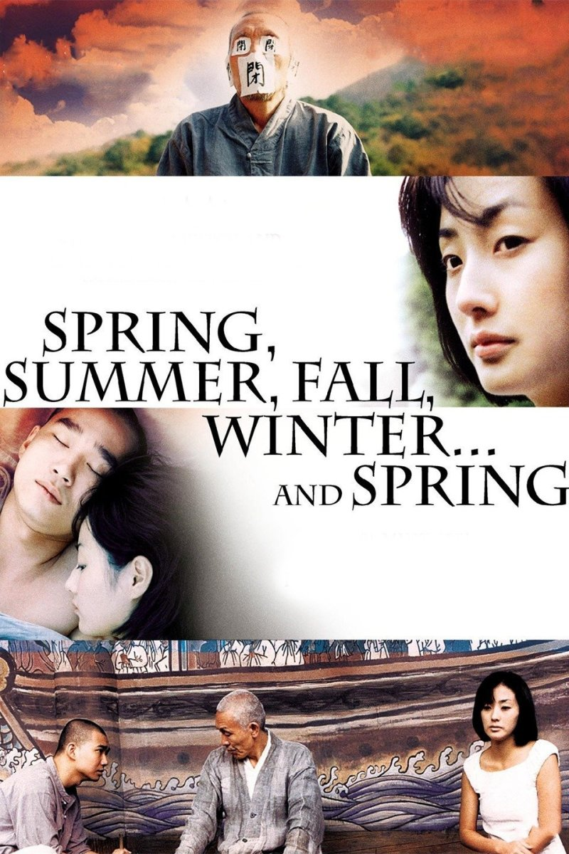 """""""Spring, Summer, Fall, Winter... And Spring"""" movie poster"""
