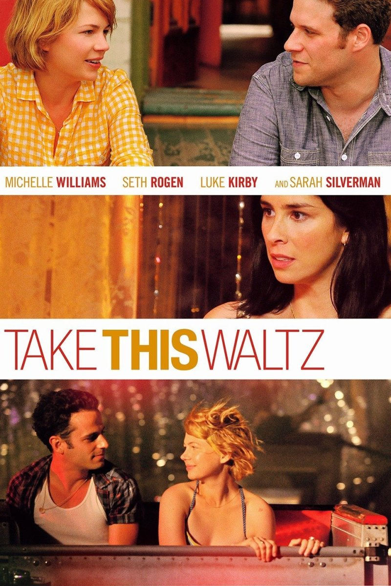 """Poster for """"Take This Waltz"""""""