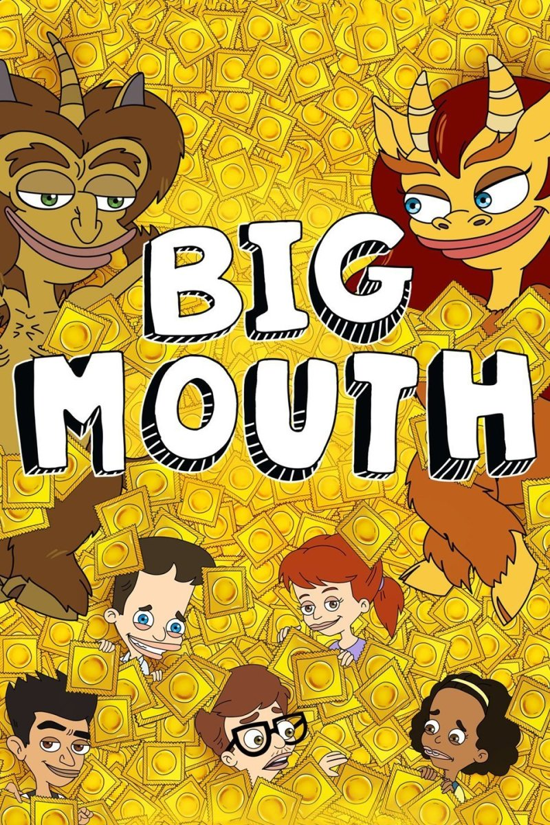 """Big Mouth"" Netflix poster"