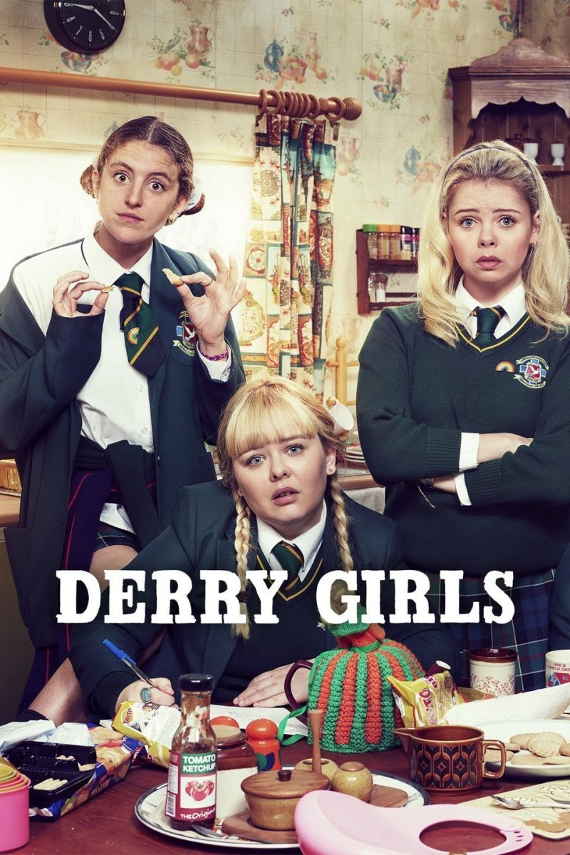 """Derry Girls"" poster"
