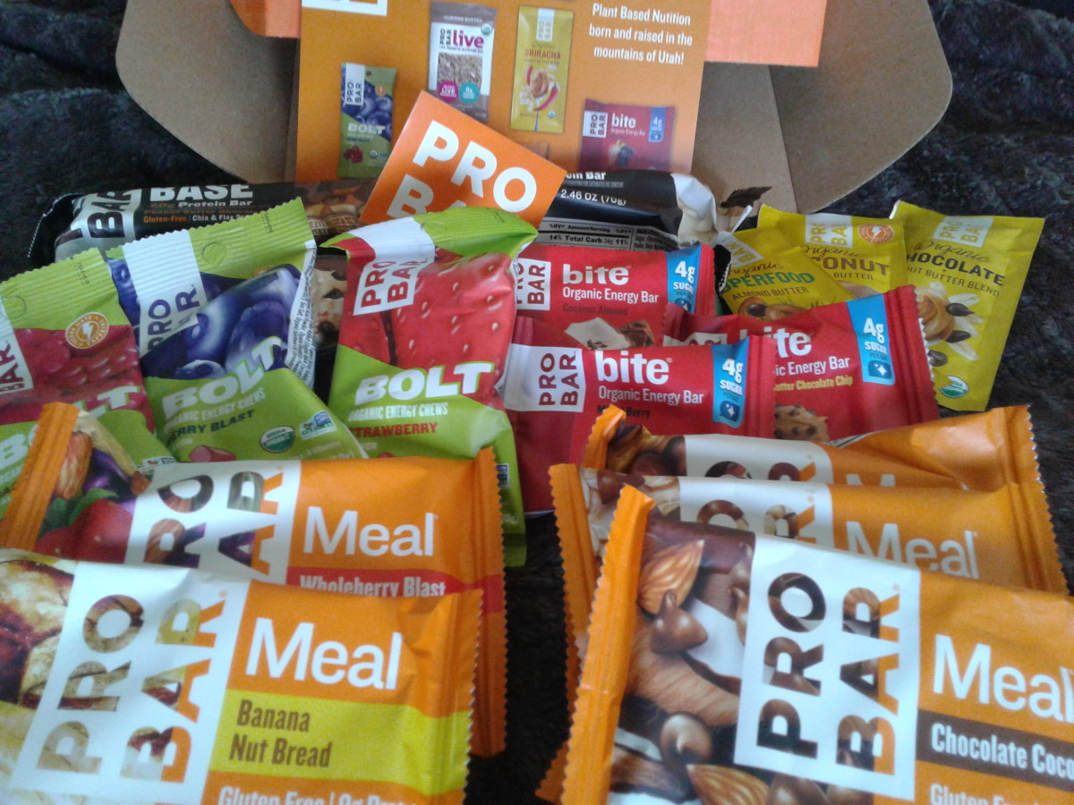 ProBar offers a variety of items which can serve as snacks or meals