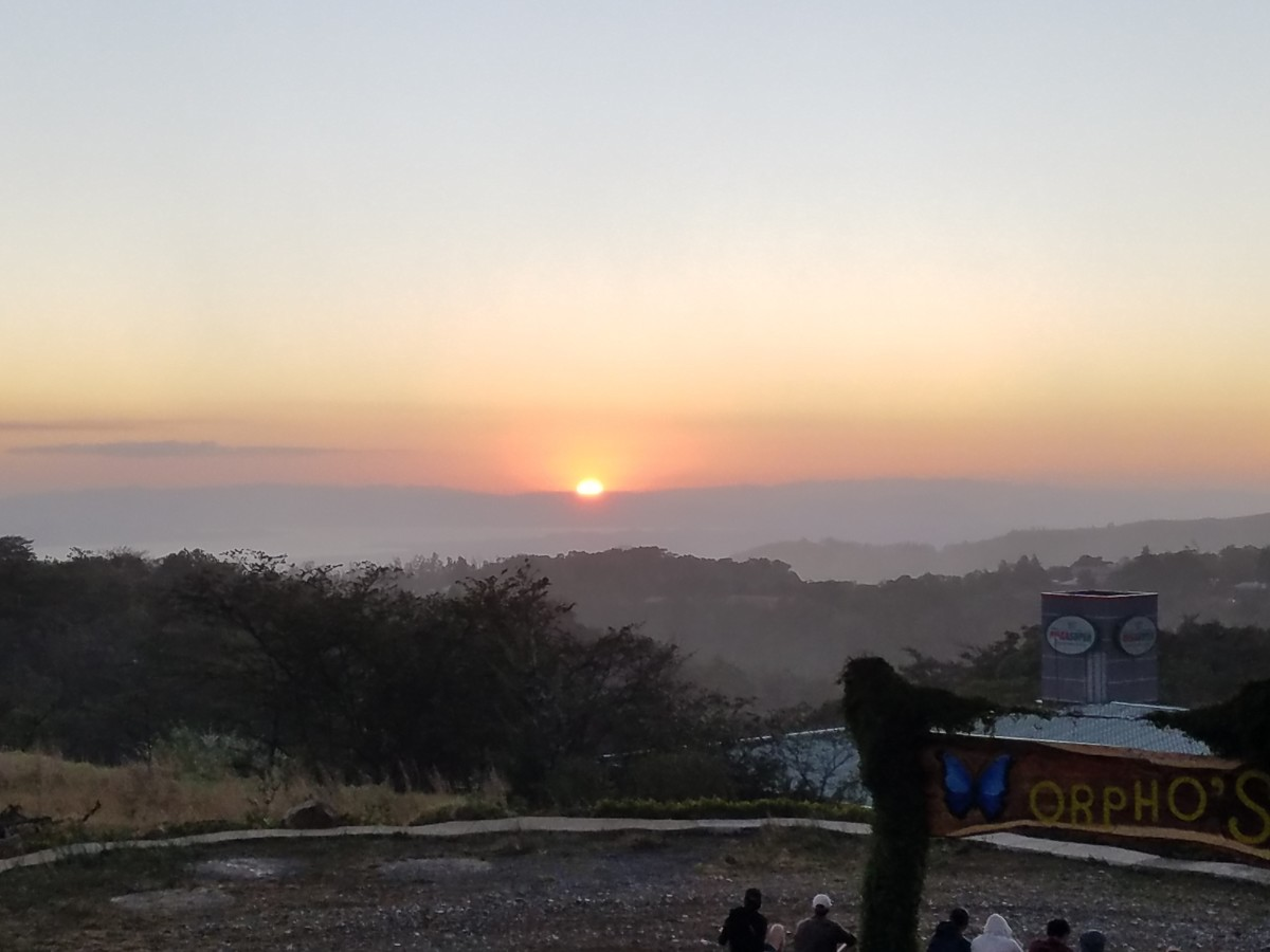 Sunset Over Santa Elena