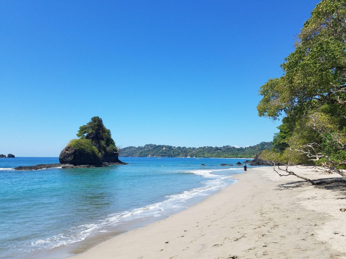 Beach Inside Manuel Antonio National Park