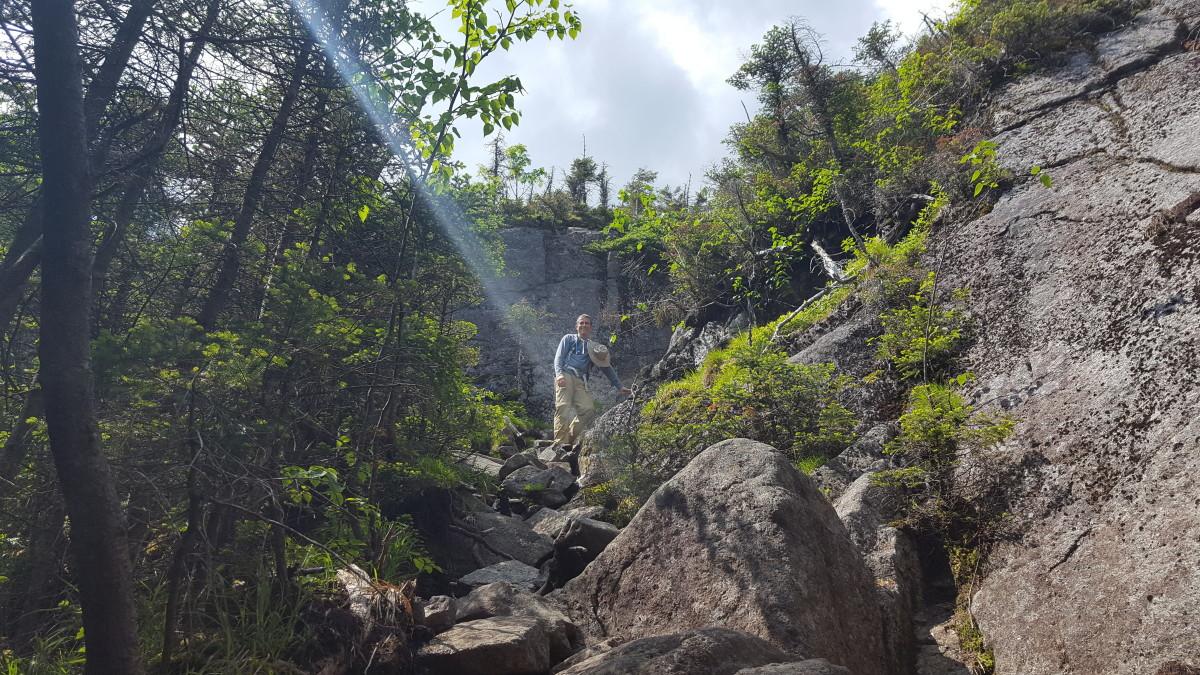 Terrain on the Climb