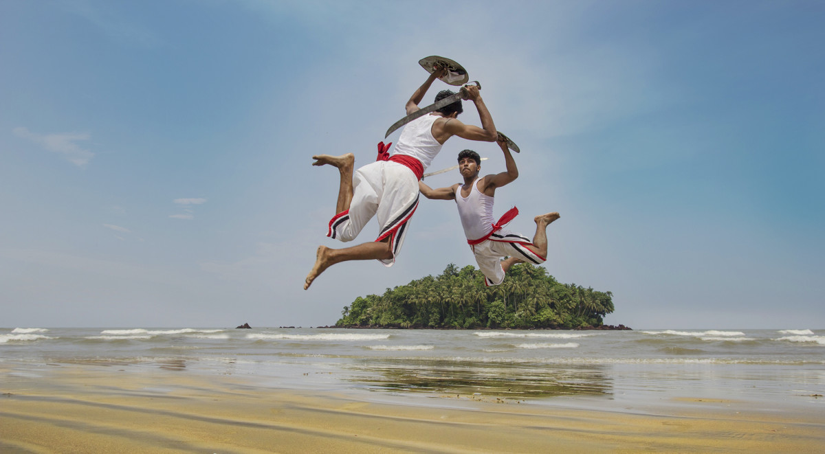 Kalaripayattu, an Indian Martial Arts