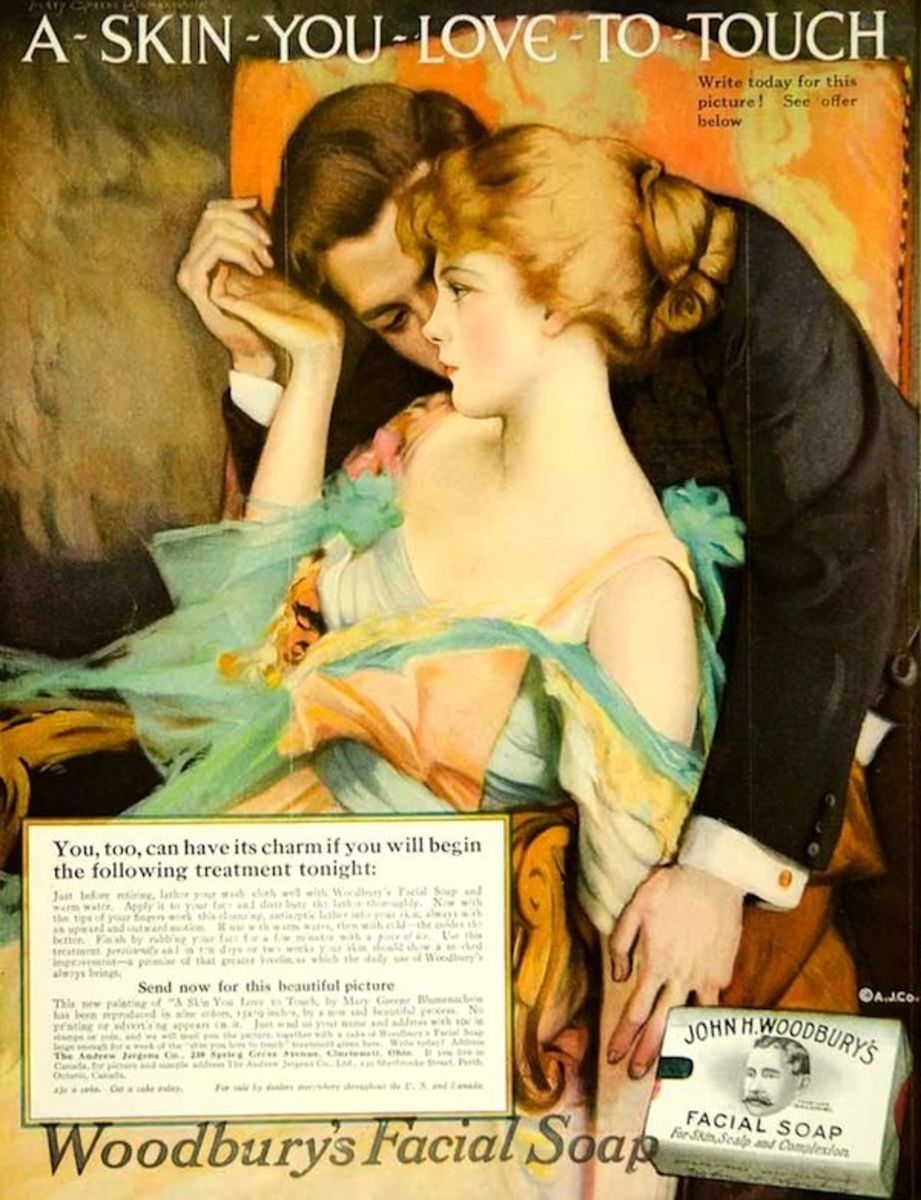 "Woodbury Soap Company: Skin You Love to Touch is considered to be the longest running and most successful ad in the advertising history crafted by J. Walter Thompson agency in 1911. It introduced ""sex appeal"" in the advertising industry."