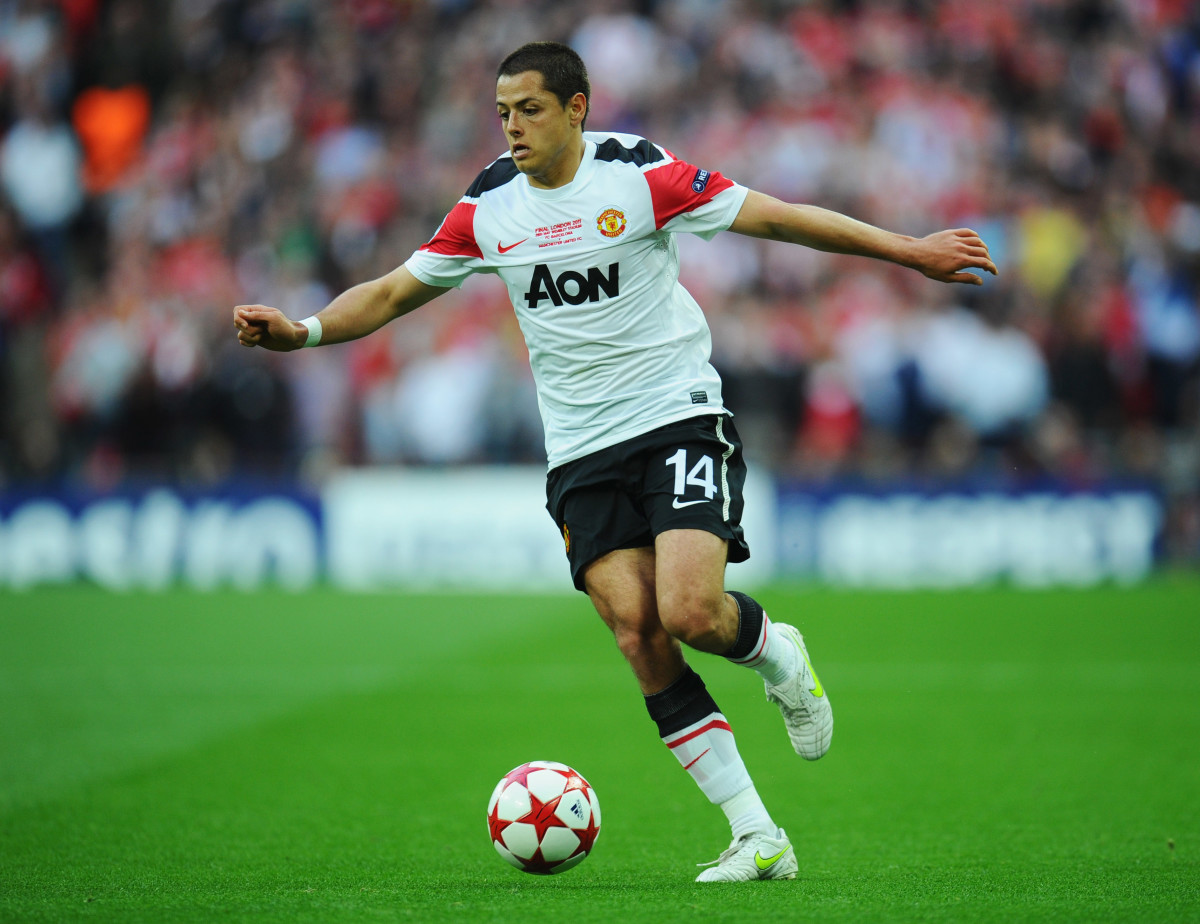 Chicharito is known for his infectious enthusiasm.