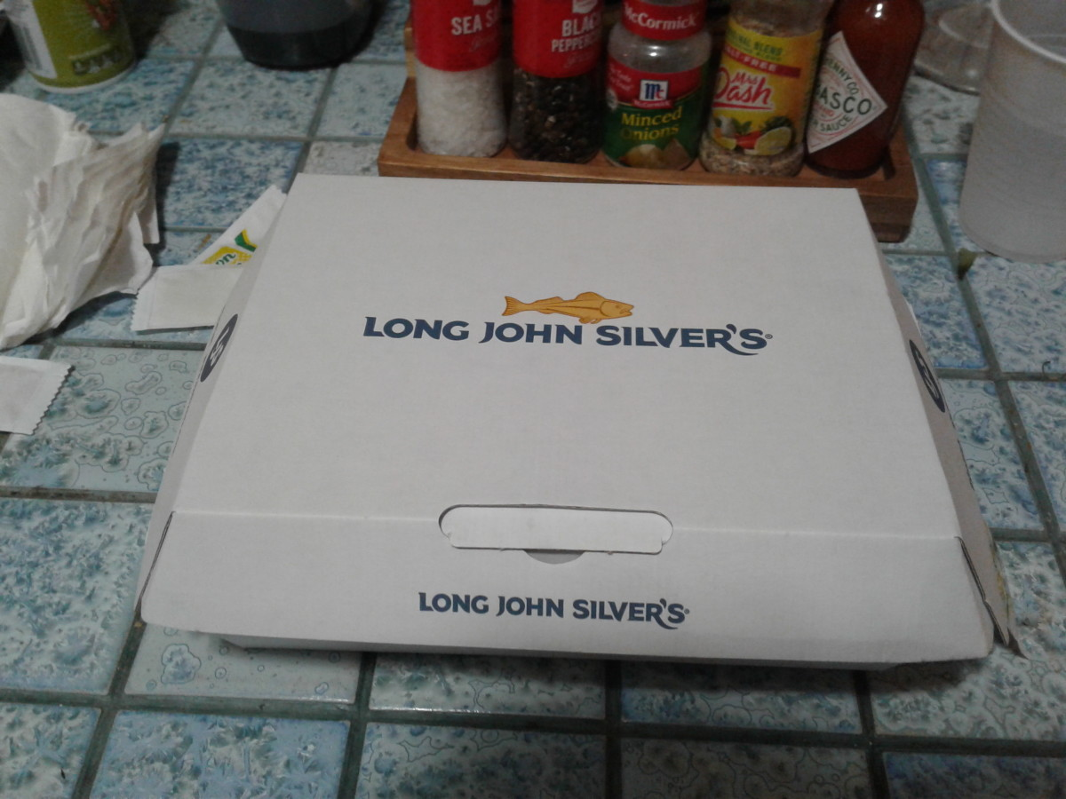 Long John Silver's is pretty standard