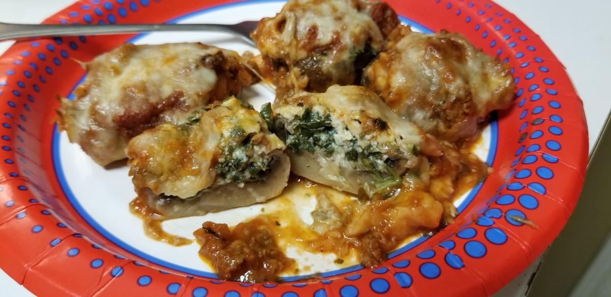 Lasagna Stuffed Mushroom Recipe (Low Carb & Keto Friendly)