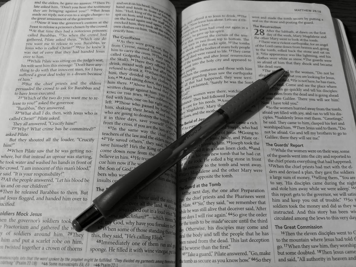Comparing the Gospel Accounts of the Resurrection of Jesus Christ