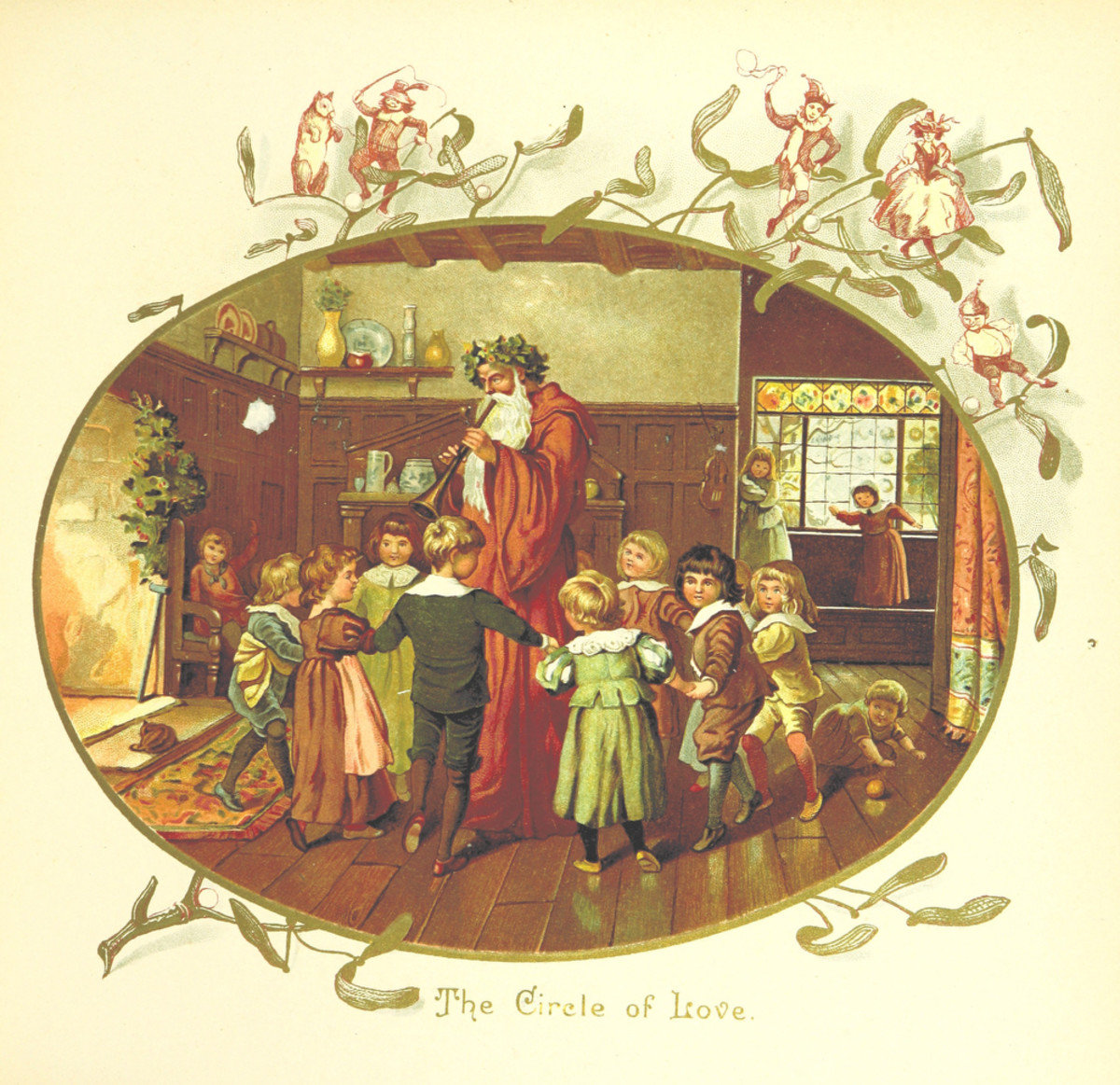Christmas Carols are a very old tradition of Christmas, and some carols were passed down orally over the centuries.