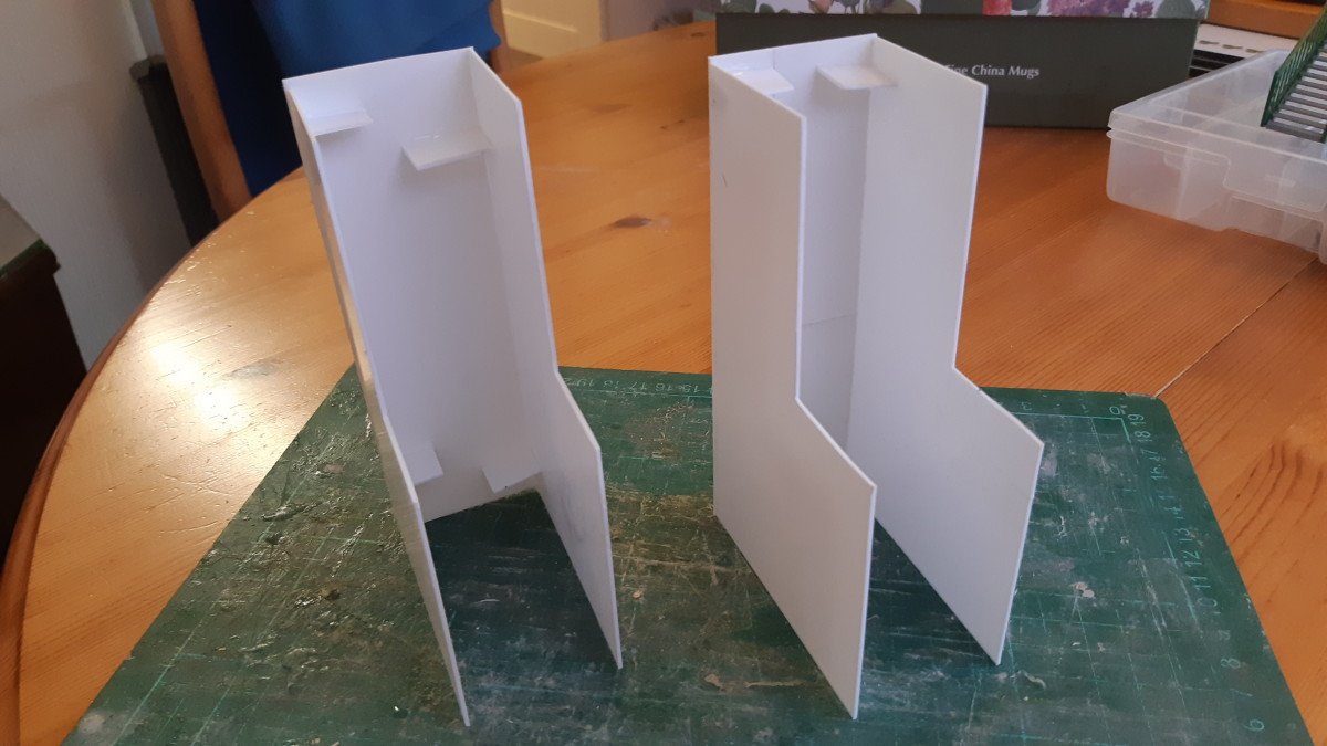 Creating the towers