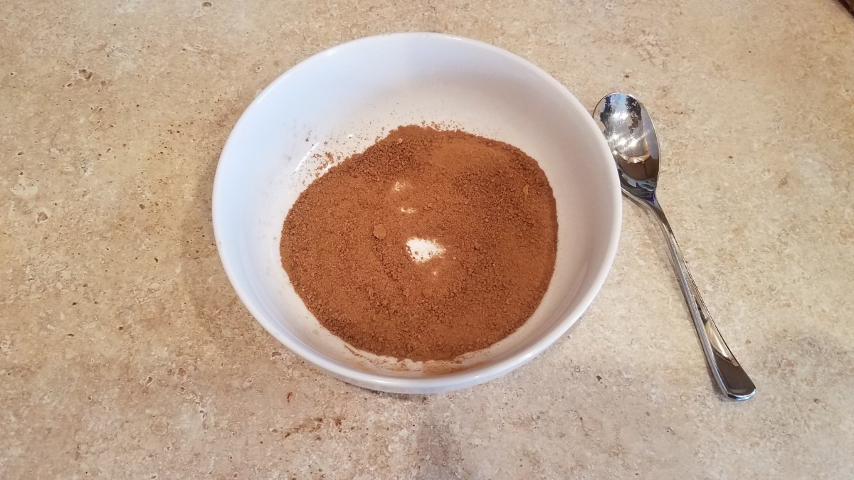Mix up your cinnamon and sugar in a small bowl.